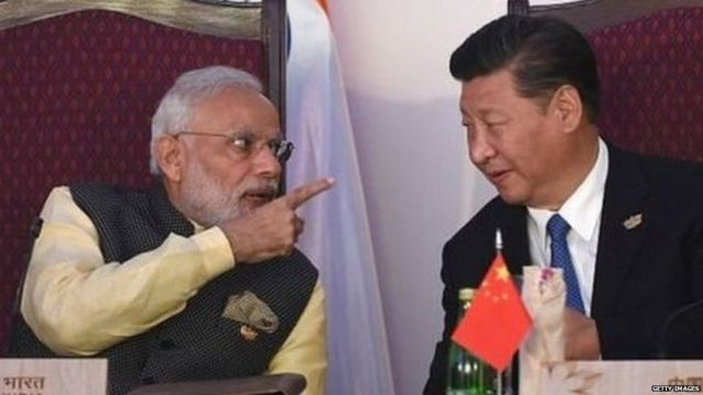 India gave a quick reply to China