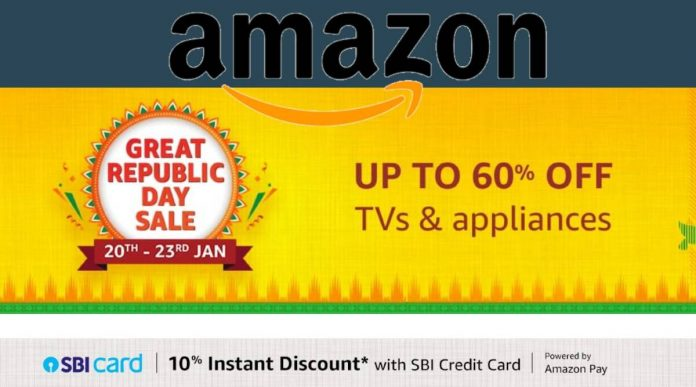 Amazon Great Republic Day Sale Kicks Off